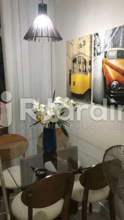 Sala do loft  - Apartamento Glória, Zona Central,Rio de Janeiro, RJ À Venda, 1 Quarto, 67m² - LAAP10326 - 1