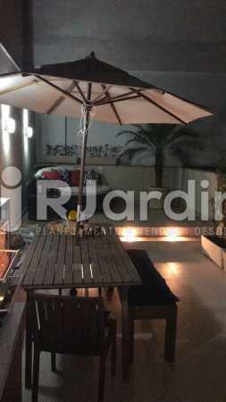 Varanda exterma de opção de  - Apartamento Glória, Zona Central,Rio de Janeiro, RJ À Venda, 1 Quarto, 67m² - LAAP10326 - 6