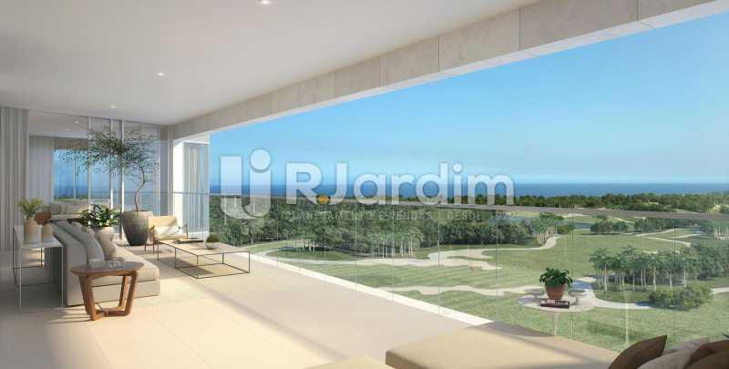 Varanda Ilustração  - Apartamento 5 Quartos À Venda Barra da Tijuca, Zona Oeste - Barra e Adjacentes,Rio de Janeiro - R$ 11.458.906 - LAAP50044 - 5
