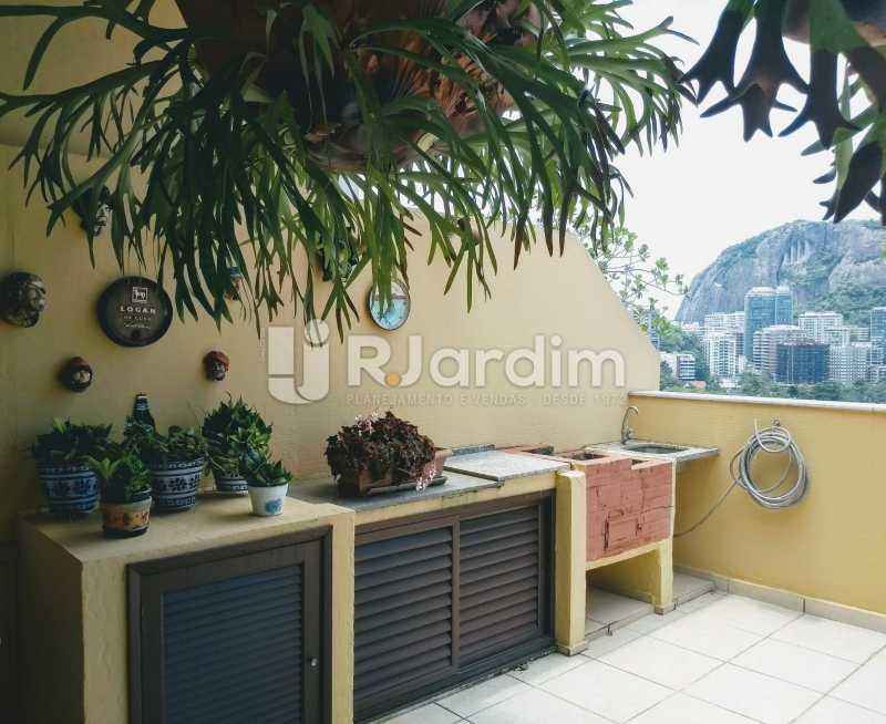 terraço  - Compra Venda Avaliação Imóveis Cobertura Lagoa 2 Quartos - LACO20092 - 4