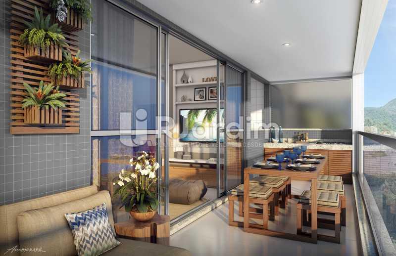 VARANDA - Apartamento 2 quartos à venda Tijuca, Zona Norte - Grande Tijuca,Rio de Janeiro - R$ 1.340.000 - LAAP21342 - 4