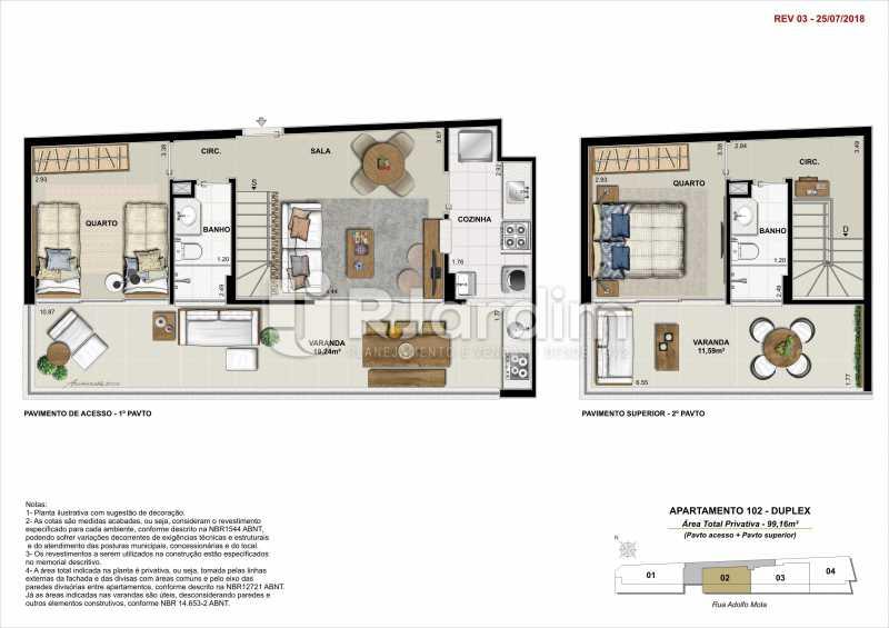 AP 102 - Apartamento 2 quartos à venda Tijuca, Zona Norte - Grande Tijuca,Rio de Janeiro - R$ 1.340.000 - LAAP21342 - 7