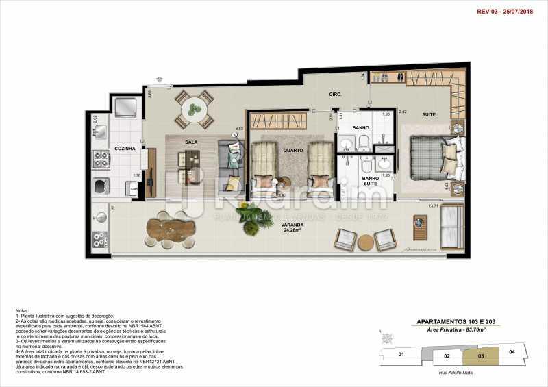 AP 103 - Apartamento 2 quartos à venda Tijuca, Zona Norte - Grande Tijuca,Rio de Janeiro - R$ 1.340.000 - LAAP21342 - 8