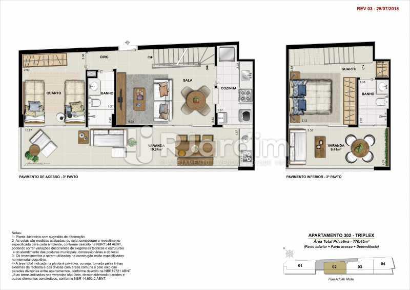 AP 302 - Apartamento 2 quartos à venda Tijuca, Zona Norte - Grande Tijuca,Rio de Janeiro - R$ 1.340.000 - LAAP21342 - 11