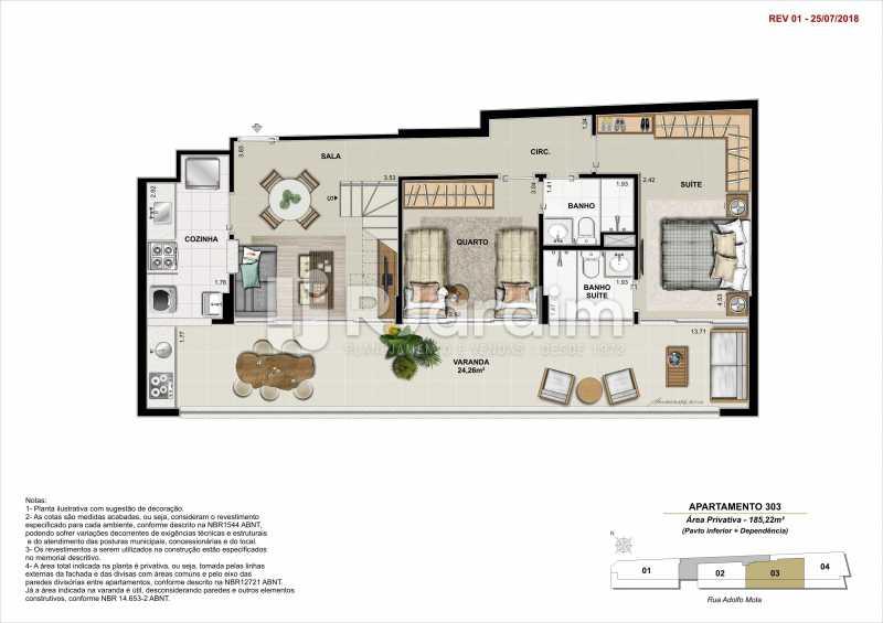 AP 303 - Apartamento 2 quartos à venda Tijuca, Zona Norte - Grande Tijuca,Rio de Janeiro - R$ 1.340.000 - LAAP21342 - 12