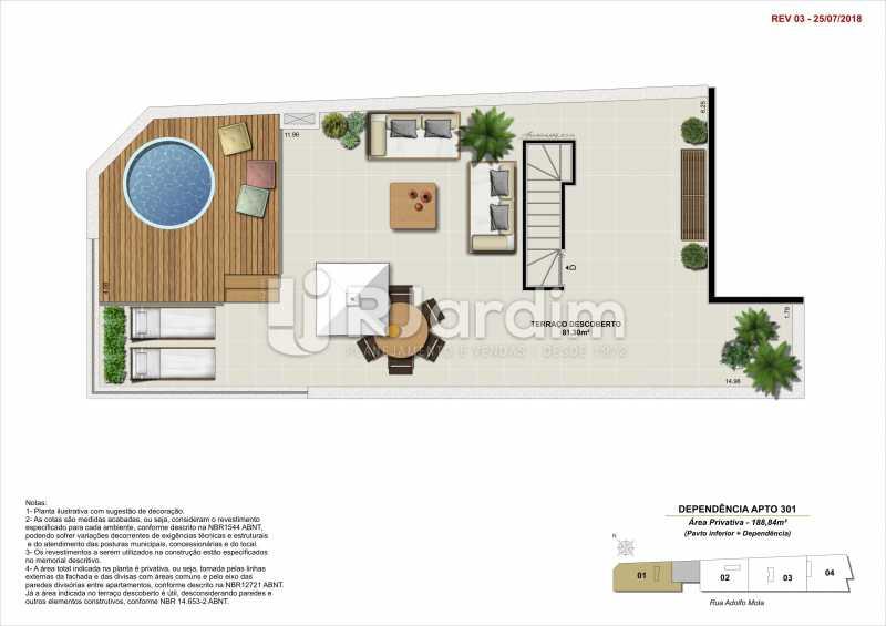 DEP 301 - Apartamento 2 quartos à venda Tijuca, Zona Norte - Grande Tijuca,Rio de Janeiro - R$ 1.340.000 - LAAP21342 - 14