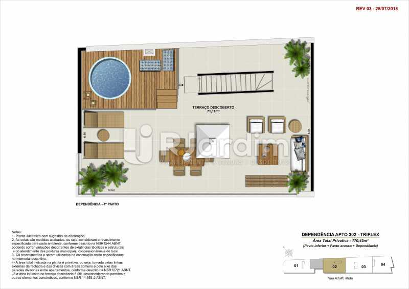 DEP 302 - Apartamento 2 quartos à venda Tijuca, Zona Norte - Grande Tijuca,Rio de Janeiro - R$ 1.340.000 - LAAP21342 - 15