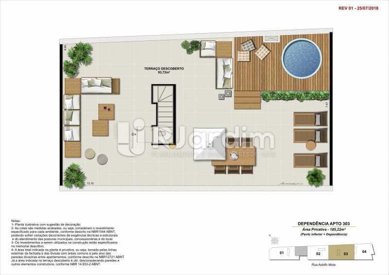 DEP 303 - Apartamento 2 quartos à venda Tijuca, Zona Norte - Grande Tijuca,Rio de Janeiro - R$ 1.340.000 - LAAP21342 - 16