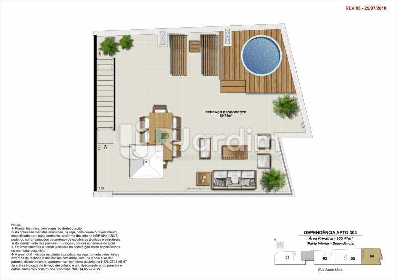 DEP 304 - Apartamento 2 quartos à venda Tijuca, Zona Norte - Grande Tijuca,Rio de Janeiro - R$ 1.340.000 - LAAP21342 - 17