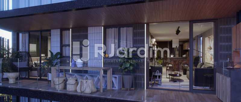 CONTEMPORÂNEO GÁVEA - Apartamento Gávea,Zona Sul,Rio de Janeiro,RJ À Venda,2 Quartos,88m² - LAAP21635 - 5