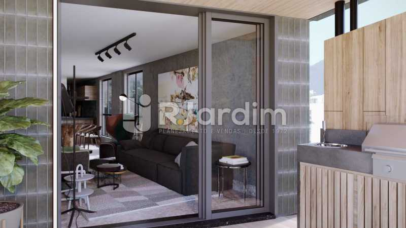 CONTEMPORÂNEO GÁVEA - Apartamento Gávea,Zona Sul,Rio de Janeiro,RJ À Venda,2 Quartos,88m² - LAAP21635 - 6