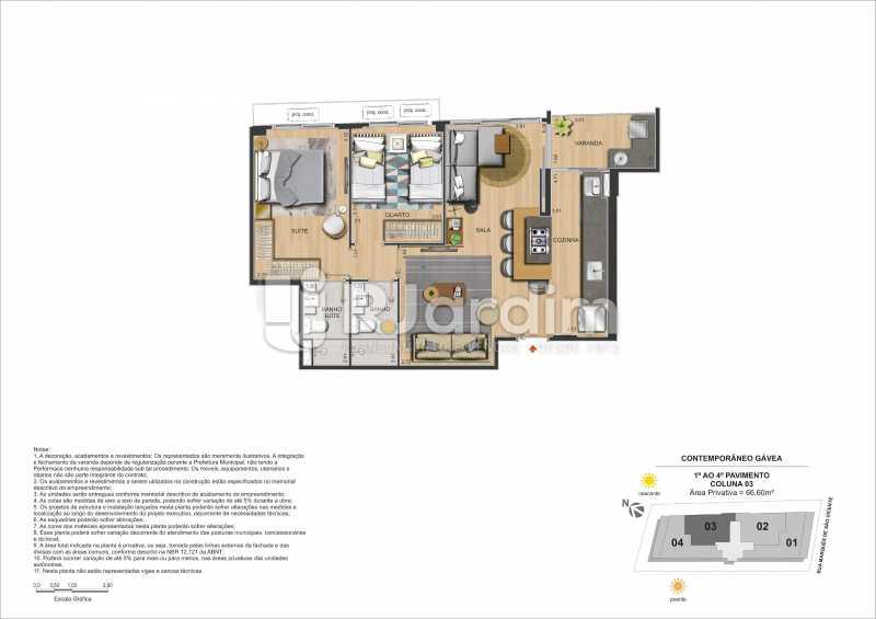 img108 - Apartamento Gávea,Zona Sul,Rio de Janeiro,RJ À Venda,2 Quartos,88m² - LAAP21635 - 25