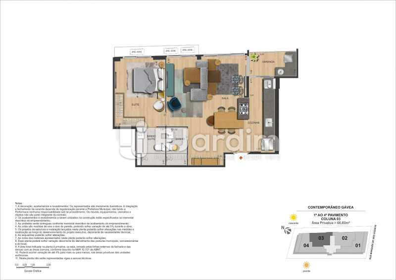 CONTEMPORÂNEO GÁVEA - Apartamento Gávea,Zona Sul,Rio de Janeiro,RJ À Venda,2 Quartos,88m² - LAAP21635 - 30