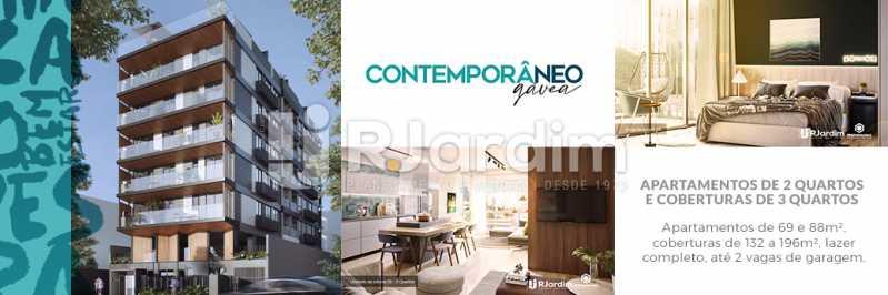 Contemporâneo Gávea - Apartamento Gávea,Zona Sul,Rio de Janeiro,RJ À Venda,2 Quartos,88m² - LAAP21635 - 1