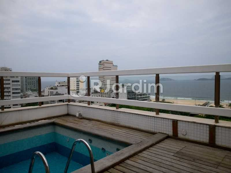 Terraço / vista mar  - Cobertura À Venda - Ipanema - Rio de Janeiro - RJ - LACO30258 - 1