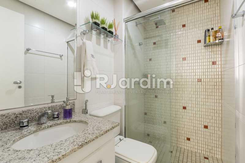 Banheiro da suíte - Apartamento À Venda - Barra da Tijuca - Rio de Janeiro - RJ - LAAP31885 - 12
