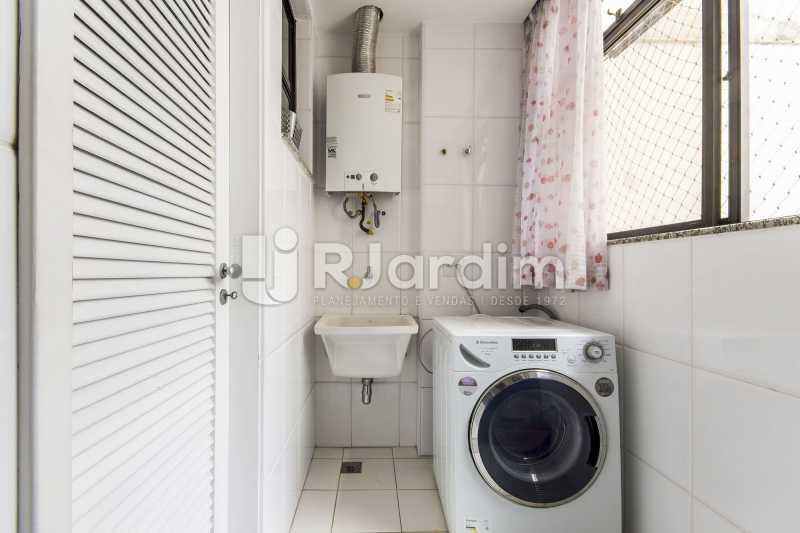 Área de serviço - Apartamento À Venda - Barra da Tijuca - Rio de Janeiro - RJ - LAAP31885 - 17