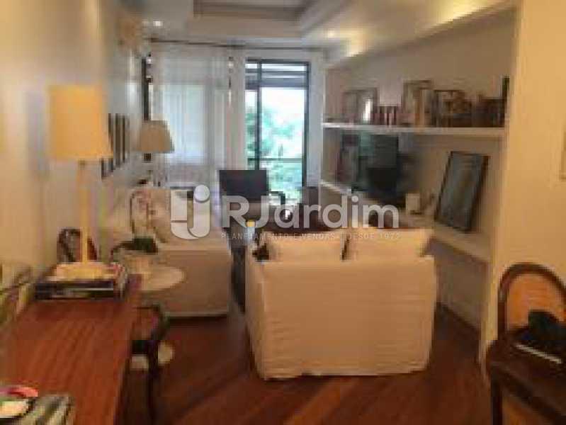 Sala de estar - Apartamento Jardim Botânico 3 Quartos Aluguel Administração Imóveis - LAAP31889 - 5