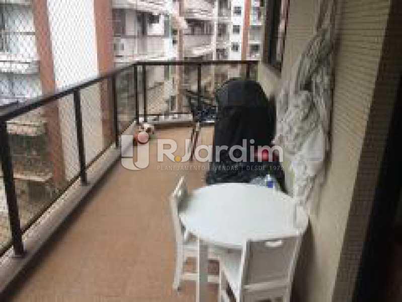 Varandão - Apartamento Jardim Botânico 3 Quartos Aluguel Administração Imóveis - LAAP31889 - 3