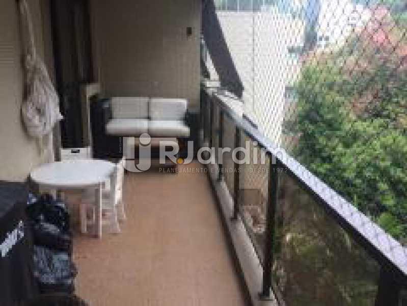 Varandão - Apartamento Jardim Botânico 3 Quartos Aluguel Administração Imóveis - LAAP31889 - 1