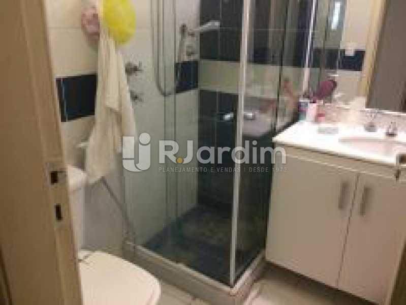 Banheiro social - Apartamento Jardim Botânico 3 Quartos Aluguel Administração Imóveis - LAAP31889 - 22