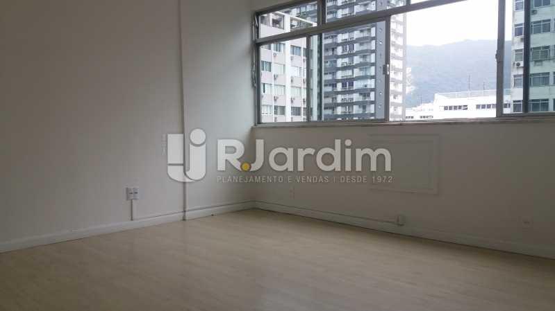 Sala Vista Livre - Apartamento Para Alugar - Leblon - Rio de Janeiro - RJ - LAAP31892 - 4