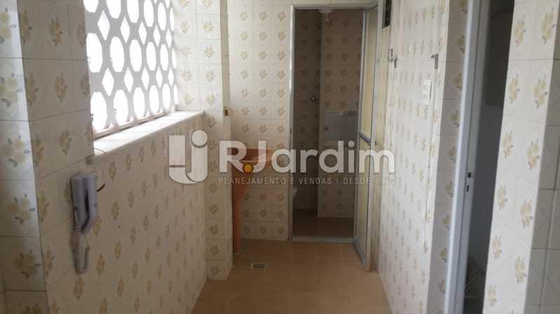 Área C/ Dependecias completas - Apartamento Para Alugar - Leblon - Rio de Janeiro - RJ - LAAP31892 - 19