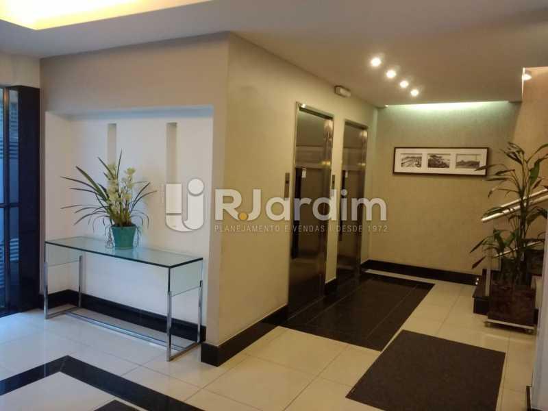 Recepcao Prédio - Apartamento Para Alugar - Leblon - Rio de Janeiro - RJ - LAAP31892 - 21