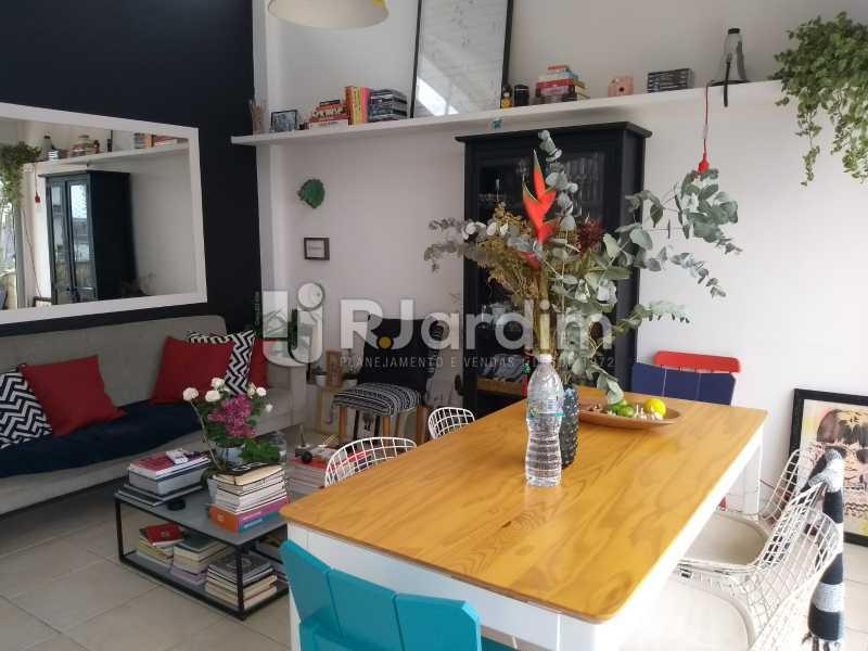 sala - Cobertura para venda Avenida Alexandre Ferreira,Lagoa, Zona Sul,Rio de Janeiro - R$ 2.600.000 - LACO30259 - 9
