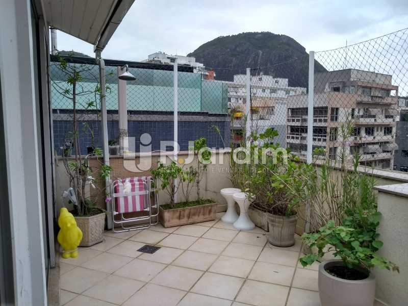 terraço - Cobertura À Venda - Lagoa - Rio de Janeiro - RJ - LACO30259 - 4