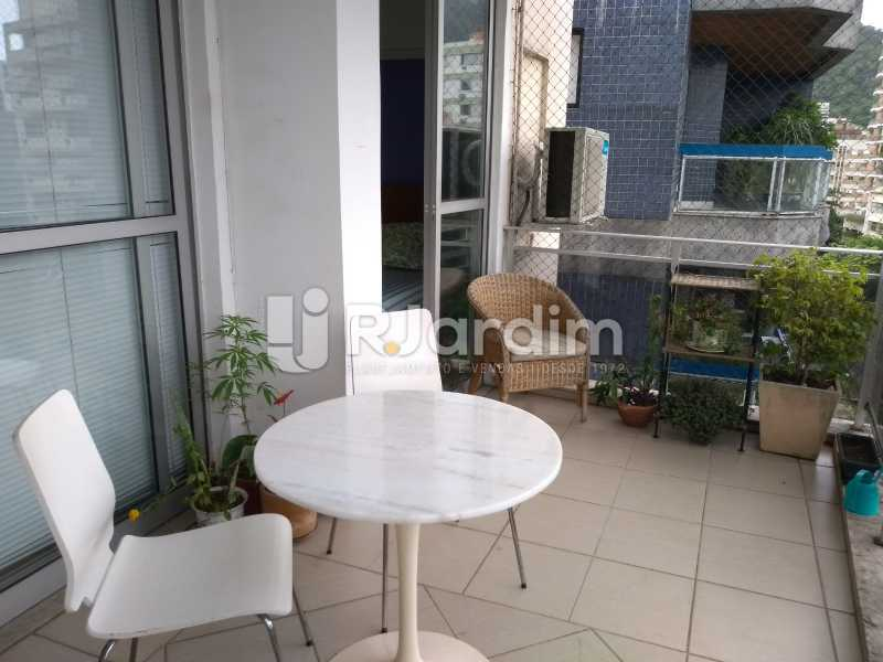 varanda / primeiro piso - Cobertura para venda Avenida Alexandre Ferreira,Lagoa, Zona Sul,Rio de Janeiro - R$ 2.600.000 - LACO30259 - 6
