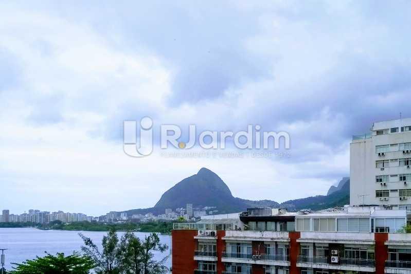 Vista Lagoa / terraço  - Cobertura À Venda - Lagoa - Rio de Janeiro - RJ - LACO30259 - 1