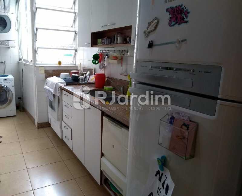 cozinha  - Cobertura para venda Avenida Alexandre Ferreira,Lagoa, Zona Sul,Rio de Janeiro - R$ 2.600.000 - LACO30259 - 28