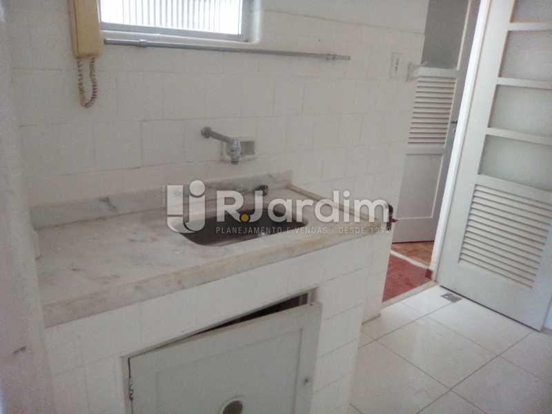 Cozinha - Aluguel Administração Imóveis Apartamento Leblon 1 Quarto - LAAP10333 - 8