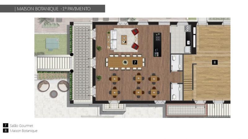 BOTANIQUE 211 - Botanique 211 Apartamento Jardim Botânico 3 Quartos - LAAP31898 - 9
