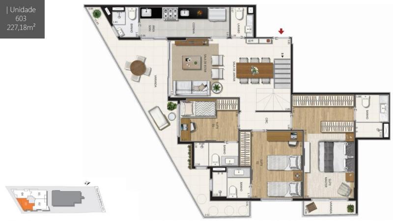 BOTANIQUE 211 - Botanique 211 Apartamento Jardim Botânico 3 Quartos - LAAP31898 - 22