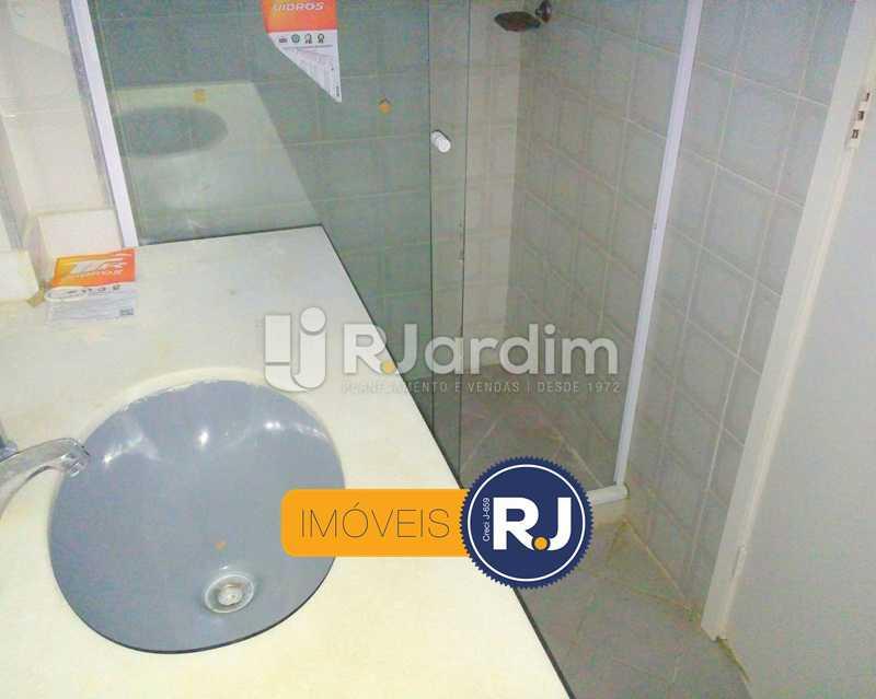 Banheiro Social - Compra Venda Avaliação Imóveis Apartamento Botafogo 2 Quartos - LAAP21352 - 14