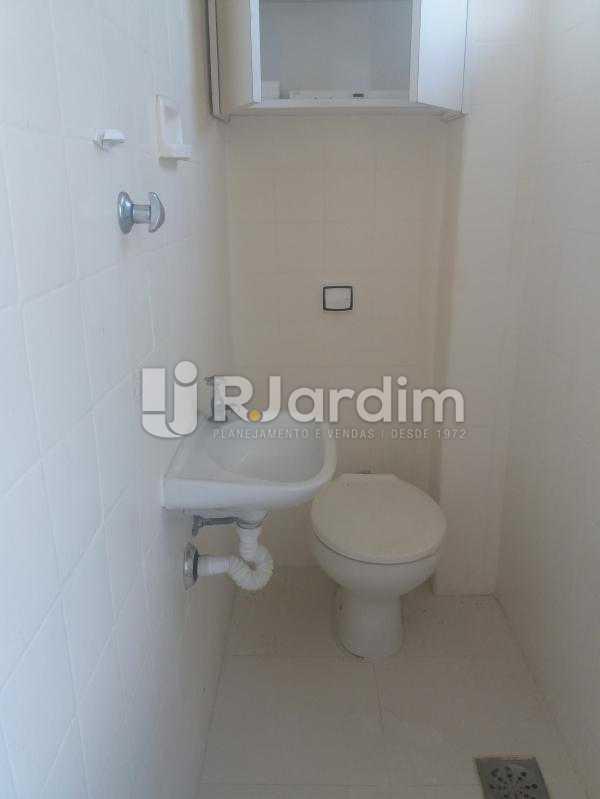 WC serviço - Apartamento à venda Rua Jardim Botânico,Jardim Botânico, Zona Sul,Rio de Janeiro - R$ 1.500.000 - LAAP31907 - 22