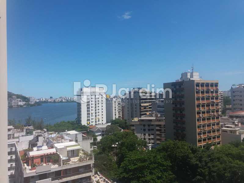 Vista sala - Apartamento à venda Rua Jardim Botânico,Jardim Botânico, Zona Sul,Rio de Janeiro - R$ 1.500.000 - LAAP31907 - 3
