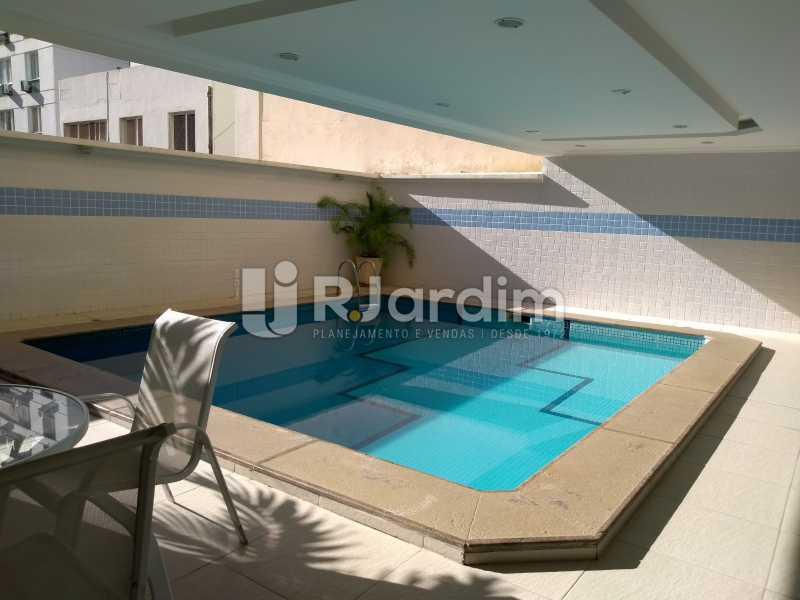 piscina - Compra Venda Avaliação Imóveis Flat Residencial Ipanema 2 quartos - LAFL20084 - 12