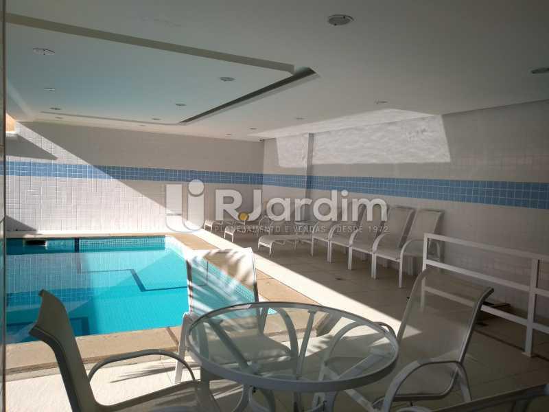 piscina  - Compra Venda Avaliação Imóveis Flat Residencial Ipanema 2 quartos - LAFL20084 - 13