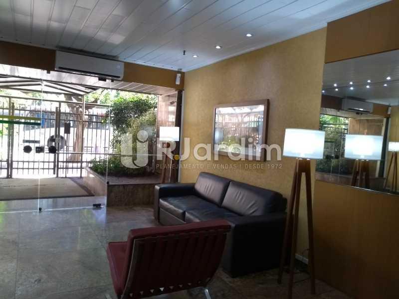 Recepção / prédio  - Compra Venda Avaliação Imóveis Flat Residencial Ipanema 2 quartos - LAFL20084 - 1