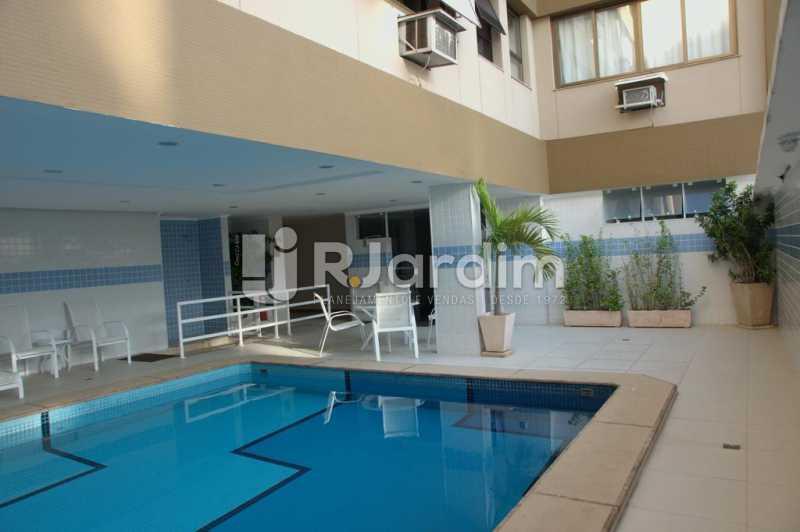 piscina / sauna  - Compra Venda Avaliação Imóveis Flat Residencial Ipanema 2 quartos - LAFL20084 - 14