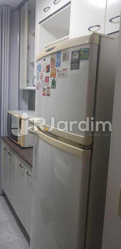 cozinha  - Compra Venda Avaliação Imóveis Flat Residencial Ipanema 2 quartos - LAFL20084 - 9