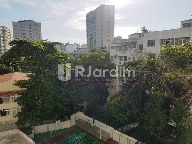 VISTA DA SALA - Apartamento 3 quartos � venda Leblon, Zona Sul,Rio de Janeiro - R$ 2.700.000 - LAAP31914 - 5
