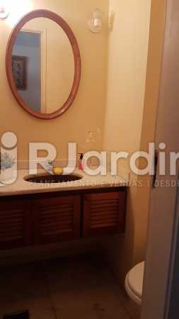 Lavabo - Apartamento À Venda - Lagoa - Rio de Janeiro - RJ - LAAP40730 - 4