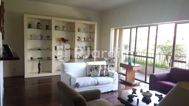 Sala - Apartamento À Venda - Lagoa - Rio de Janeiro - RJ - LAAP40730 - 1