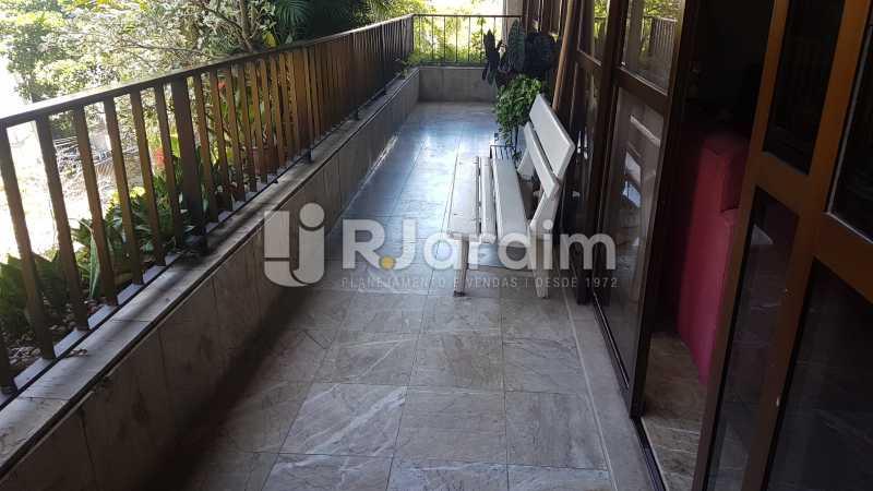 Varanda - Apartamento À Venda - Lagoa - Rio de Janeiro - RJ - LAAP40730 - 3