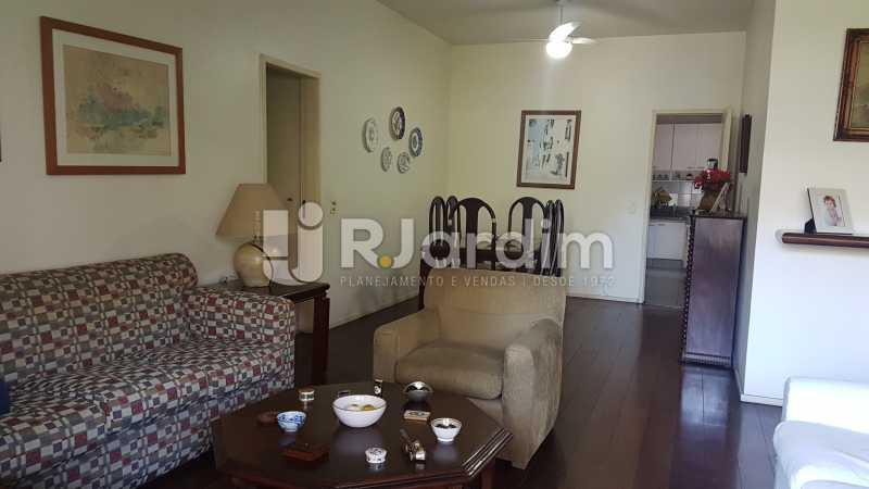 Sala - Apartamento À Venda - Lagoa - Rio de Janeiro - RJ - LAAP40730 - 6