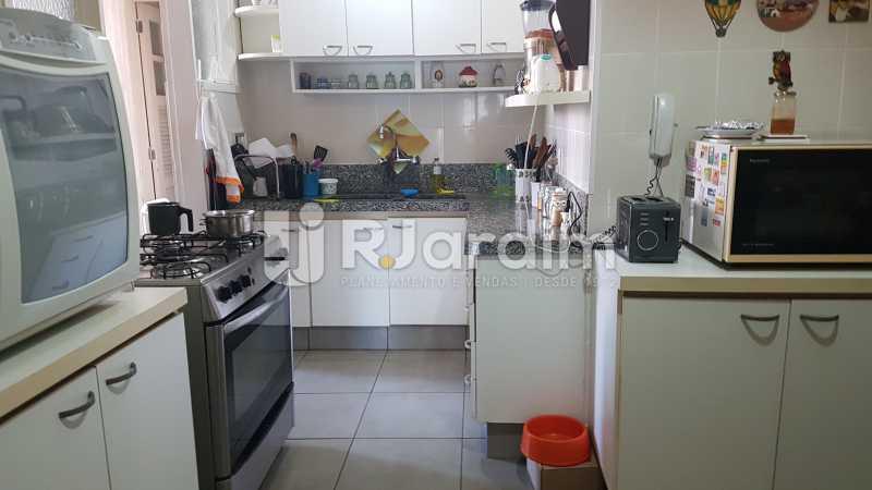 Cozinha - Apartamento À Venda - Lagoa - Rio de Janeiro - RJ - LAAP40730 - 21